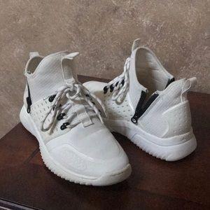 Aldo Shoes - Aldo High Top White Sneakers